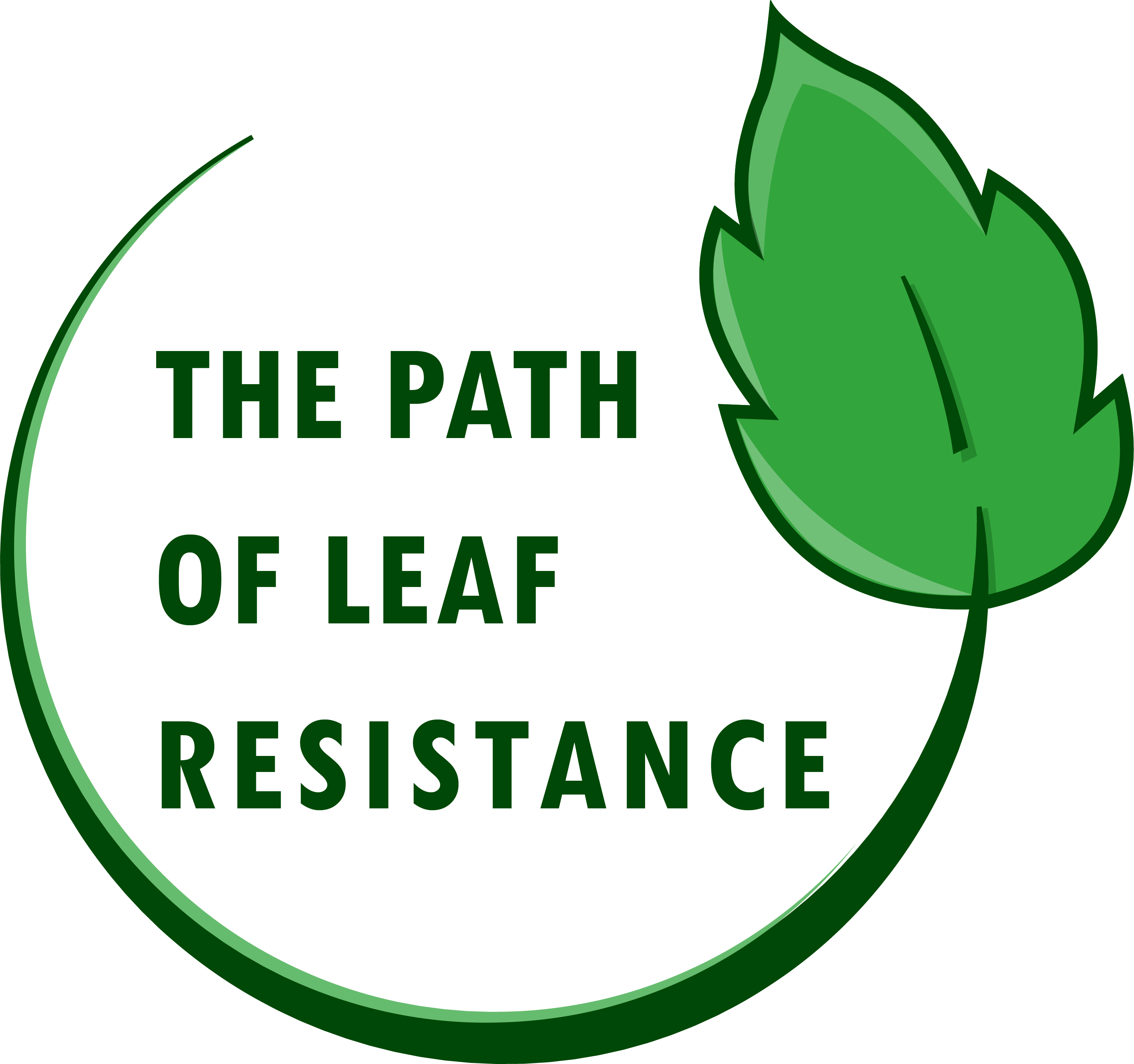 The Path of Leaf Resistance logo