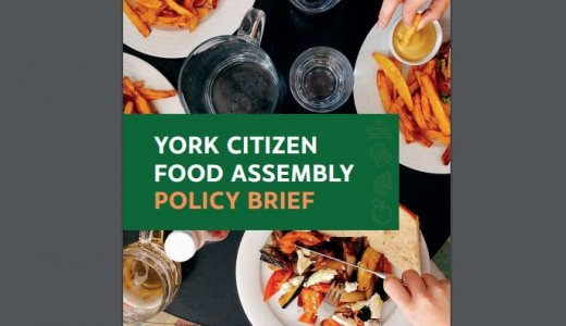 York Citizen Food Assembly Policy Brief