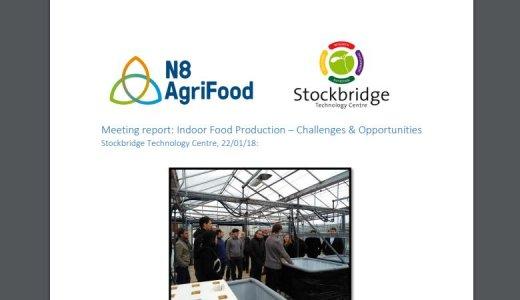 Indoor Food Production – Challenges & Opportunities