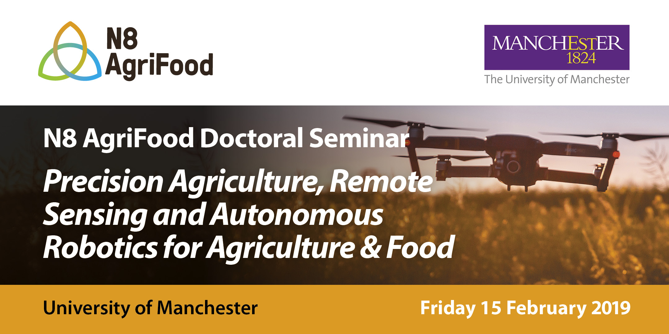 Doctoral seminar:  'Precision Agriculture, Remote Sensing and Autonomous Robotics for Agriculture & Food'