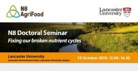 N8 AgriFood Doctoral Seminar - Fixing our broken nutrient cycles