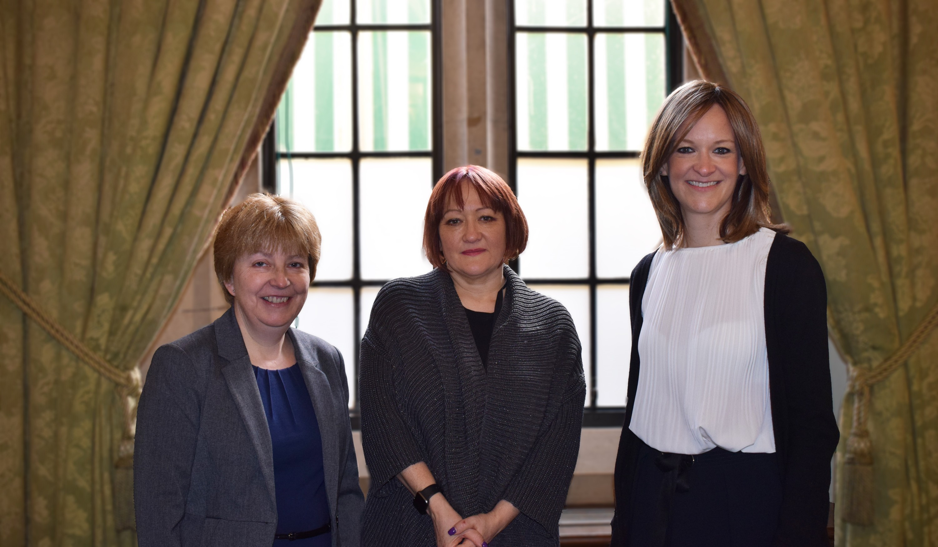 The Brexit Effect project lead Professor Linda Hendry with Kerry McCarthy MP, Select Committee on Environment, Food and Rural Affairs, and Gail Orton, Director, Government Affairs, Europe, Tate and Lyle Sugars.