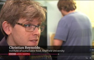 "BBC news programme features N8 AgriFood's Christian Reynolds as ""the man with the climate change calculator"""