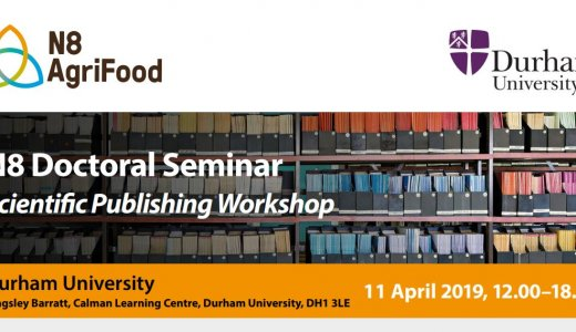 N8 AgriFood Doctoral Seminar - Scientific Publishing