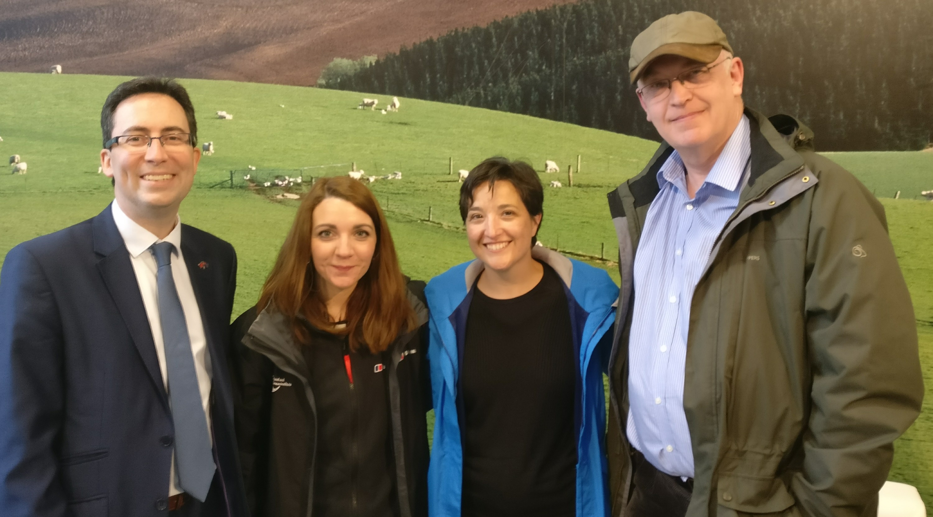 Sally Howlett attends National Fieldays, the largest agricultural event in the Southern hemisphere