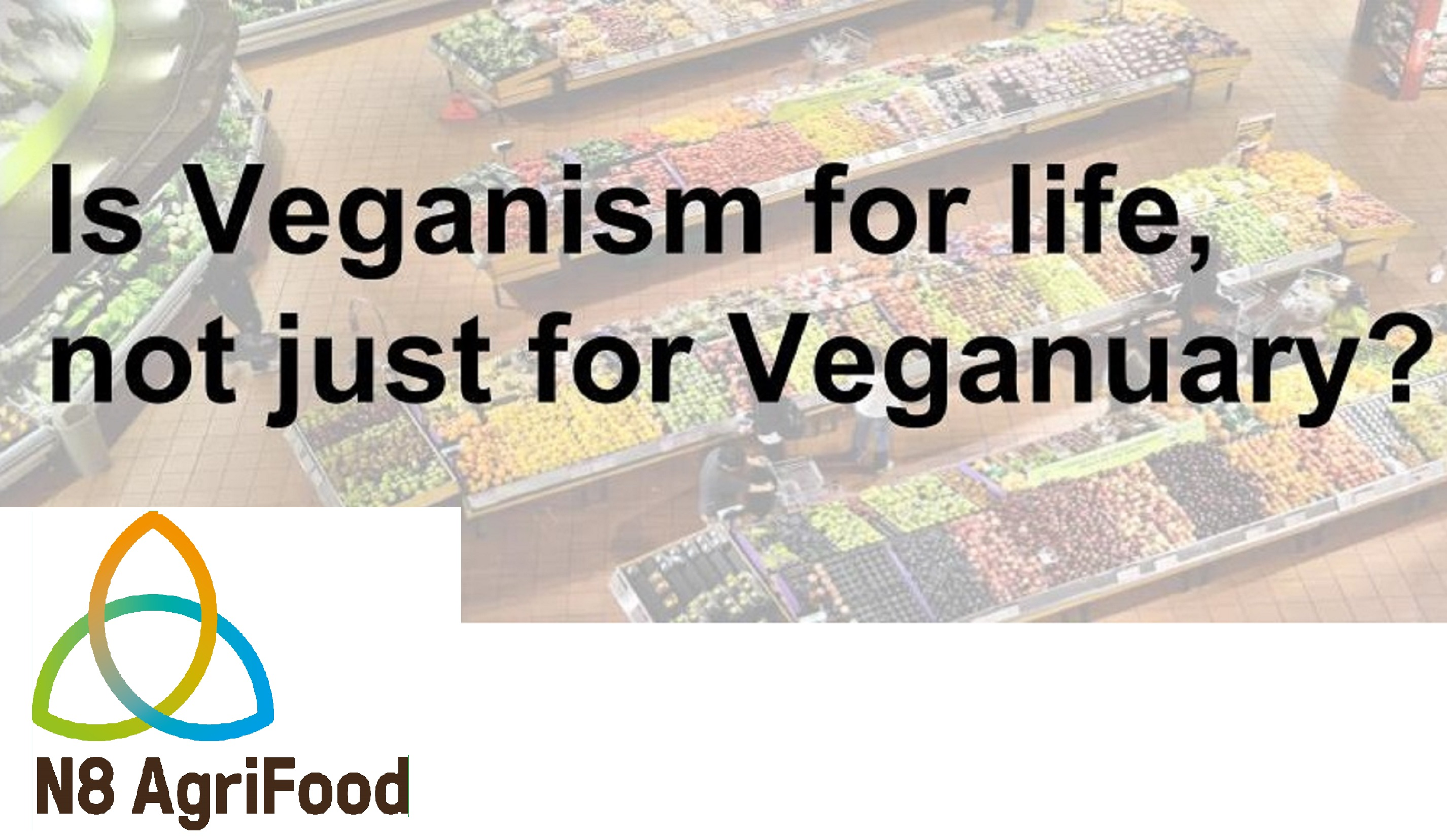 Is Veganism for Life, not just for Veganuary?