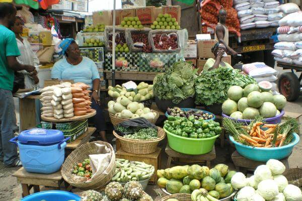 Dietary transitions in Ghanaian cities